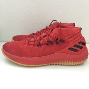Adidas dame 4 scarlet red